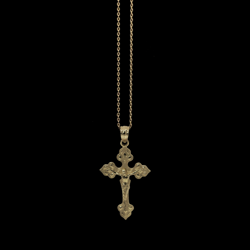 Elegant Cross - Solid Gold