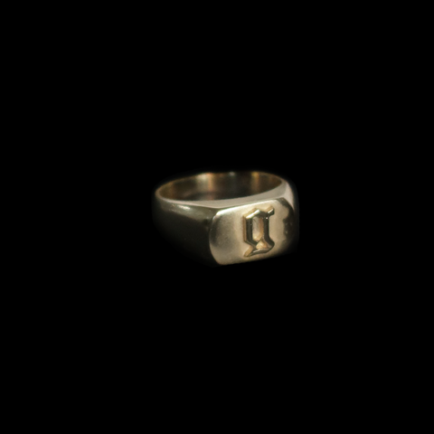 Initial Signet Ring - Custom