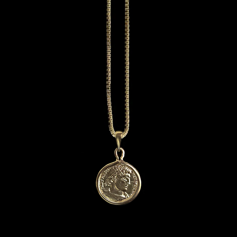 Greek Coin Medallion