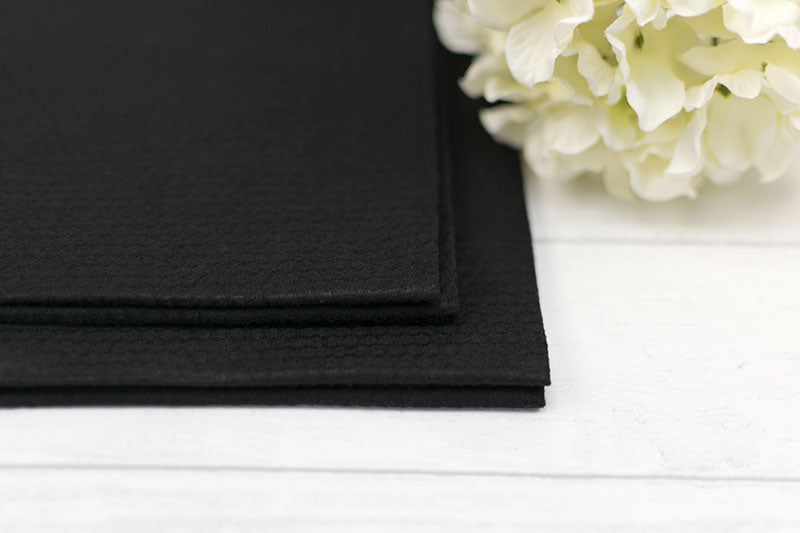 Black Embossed Biodegradable Disposable Towels