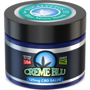 CBD Salve Multi-flavor | Blue Moon Hemp 125 mg / 250 mg / 500 mg, Research shows CBD helps relieve chronic pain associated with rheumatoid arthritis, strained muscles, and inflammation