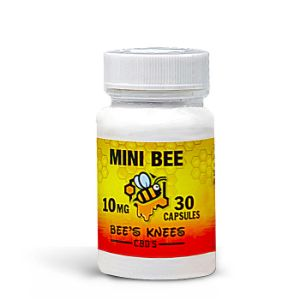 Bee's Knee's CBD's CBD Capsules | 10mg -50mg, CBD is Commonly Used to treat insomnia stress and anxiety to name a few