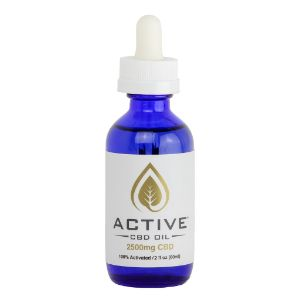 CBD / MCT Tincture | Active CBD Oil 1250 mg / 2500 mg, CBD tincture treats symptoms associated with joint pain caused by arthritis, CBD oil for seizure control from Parkinson's disease, and CBD oil sleep aid for insomnia