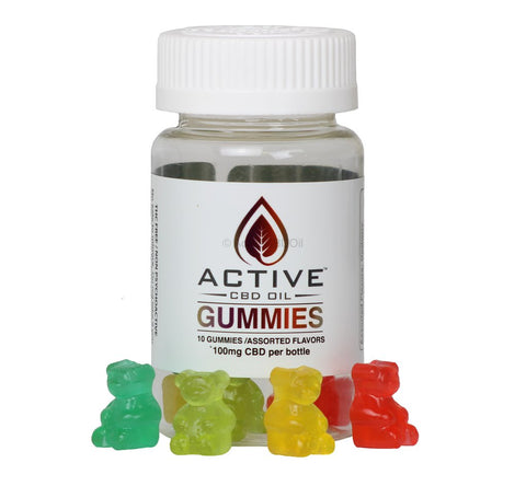 CBD Oil Gummies | Active CBD 10 mg, What helps with PTSD?, buy CBD edibles near me