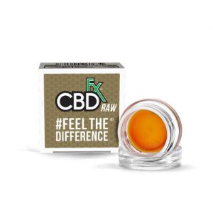 CBDfx Hemp CBD Concentrate Wax Dab, cbd can help with stress anxiety PTSD according to research, cbd dab wax review