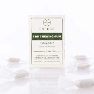 CBD Chewing Gum 150 mg | Endoca