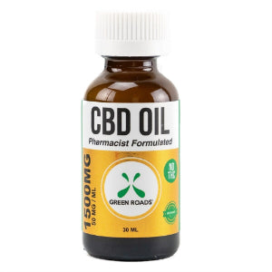 CBD Oil – 1500mg by Green Roads, Can CBD treat stress?, Can CBD reduce anxiety?, Can CBD help depression?, Can CBD treat PTSD?