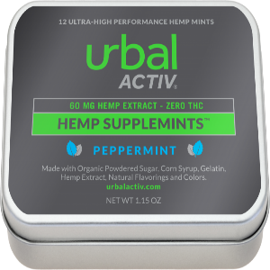 CBD Infused Mints - 60mg | Urbal Activ