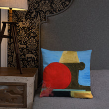 "Load image into Gallery viewer, ""African Son"" Throw Pillow"