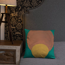 Load image into Gallery viewer, Angela's Afro Throw Pillow