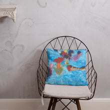 Load image into Gallery viewer, Birds on a Wire Pillow