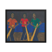 Load image into Gallery viewer, Trois Monsieurs Framed Print