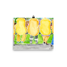 Load image into Gallery viewer, the soccer game watercolor print