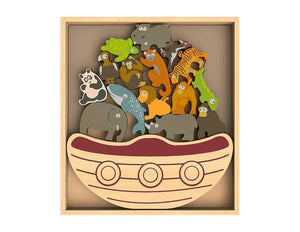 Balance Boat Endangered Animals - My Eco Tot