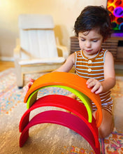 Load image into Gallery viewer, Wooden Rainbow Montessori Stackers - My Eco Tot