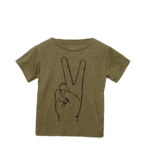 Peace Tee - Infant/Toddler/Kids - My Eco Tot