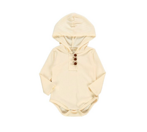 Henry Hooded Onesie - My Eco Tot