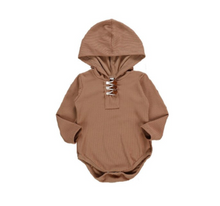Load image into Gallery viewer, Henry Hooded Onesie - My Eco Tot