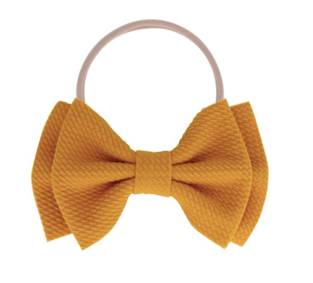 Fall 2020 - Baby Bows - My Eco Tot