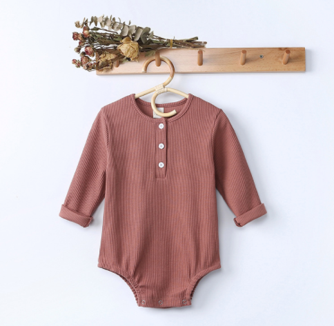 Hollie Henley - Long Sleeve Onesie - My Eco Tot
