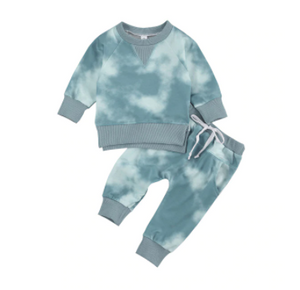 Tal Tie Die Lounge Set - My Eco Tot