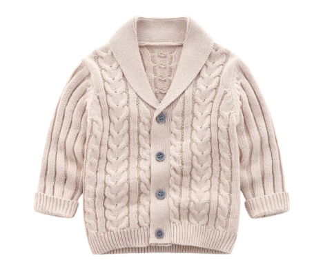 Cooper Cable Knit Cardigan - My Eco Tot