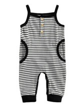 Load image into Gallery viewer, Striped Tank Romper