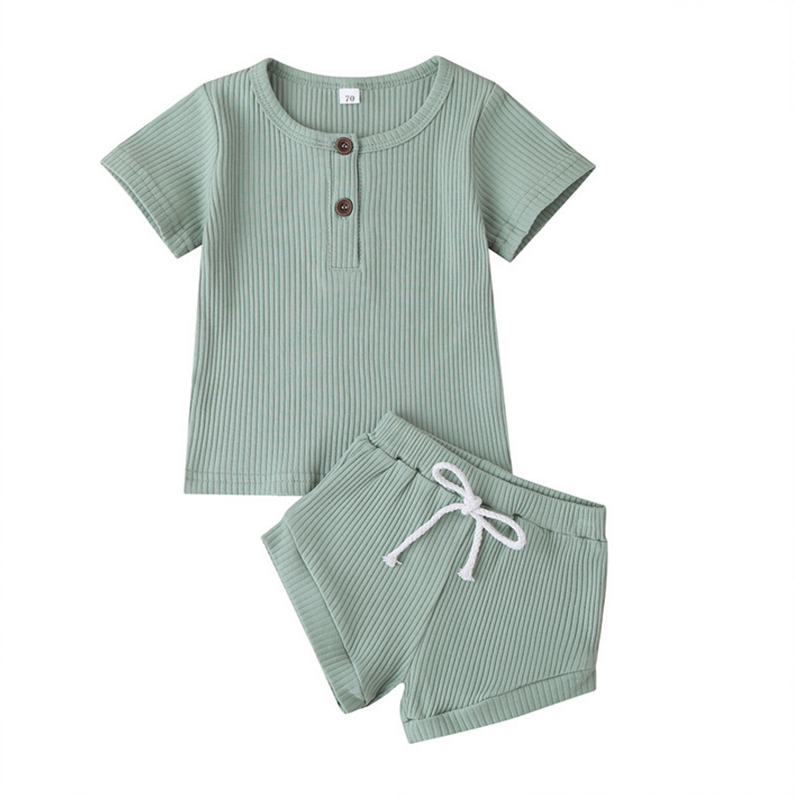 Rudy Ribbed - Summer Set - My Eco Tot