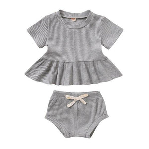 Polly Peplum Top with Bloomers - My Eco Tot