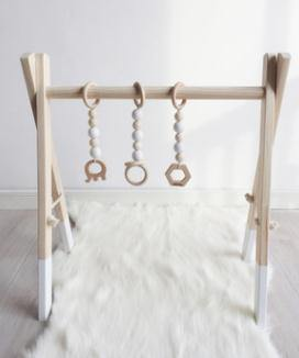 Wooden Baby Activity Gym - My Eco Tot