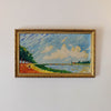 By the Seine - Original Oil Painting on Canvas by Joe Scarborough - Joe Scarborough Art