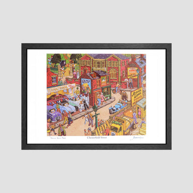 Chesterfield Street Signed Archive Artist Proof Art Print - Joe Scarborough Art