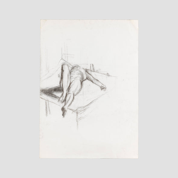 """On Her Back"" by Darren Baker, Original Sketch On Art Paper - Joe Scarborough Art"