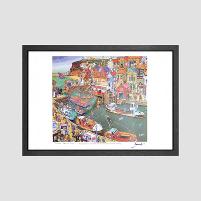 Ella Harland's Whitby Signed Archive Artist Proof Art Print - Joe Scarborough Art