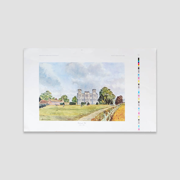 George Cunningham Art Print Barlborough Hall - Joe Scarborough Art