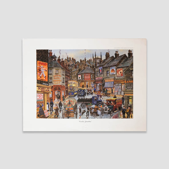George Cunningham Art Print Crookes Junction - Joe Scarborough Art