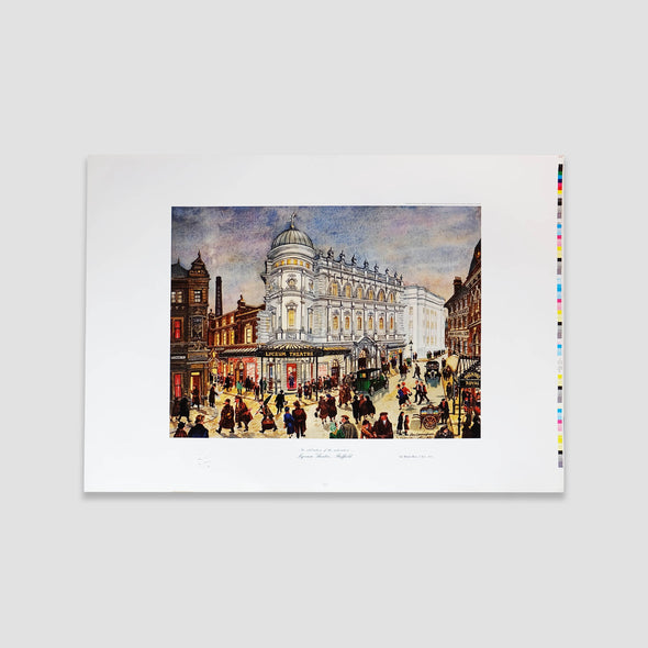 George Cunningham Art Print Lyceum Theatre Sheffield - Joe Scarborough Art