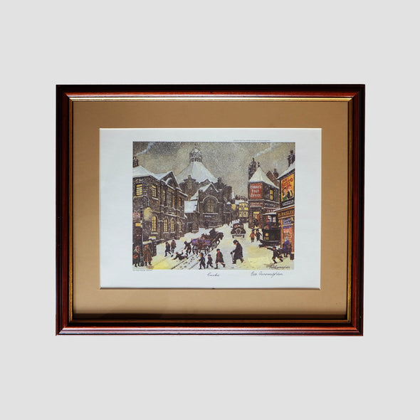 George Cunningham Signed Framed Print Crookes