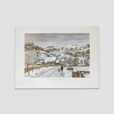 George Cunningham Art Print The Chapel In The Valley - Joe Scarborough Art
