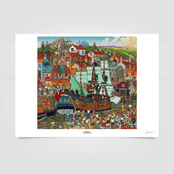 Joe Scarborough Signed Art Print Endeavour - Joe Scarborough Art