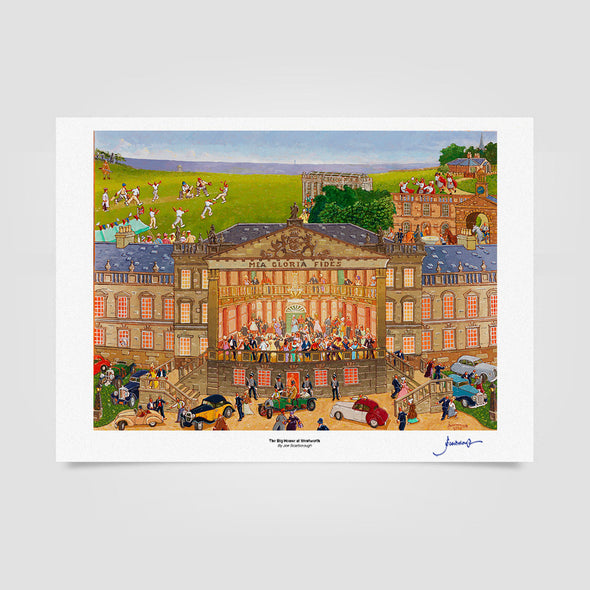 Joe Scarborough Signed Art Print The Big House at Wentworth - Joe Scarborough Art