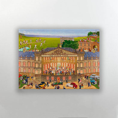 Joe Scarborough Signed Artist Proof Canvas Print The Big House at Wentworth - Joe Scarborough Art