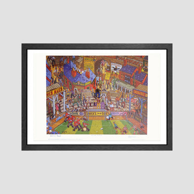 Match of the Day Signed Archive Artist Proof Art Print - Joe Scarborough Art