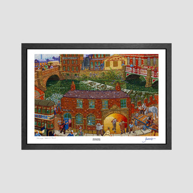 Mowbray Street Signed Archive Artist Proof Art Print - Joe Scarborough Art