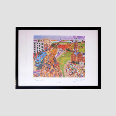 The Big Walk Signed Archive Artist Proof Art Print - Joe Scarborough Art
