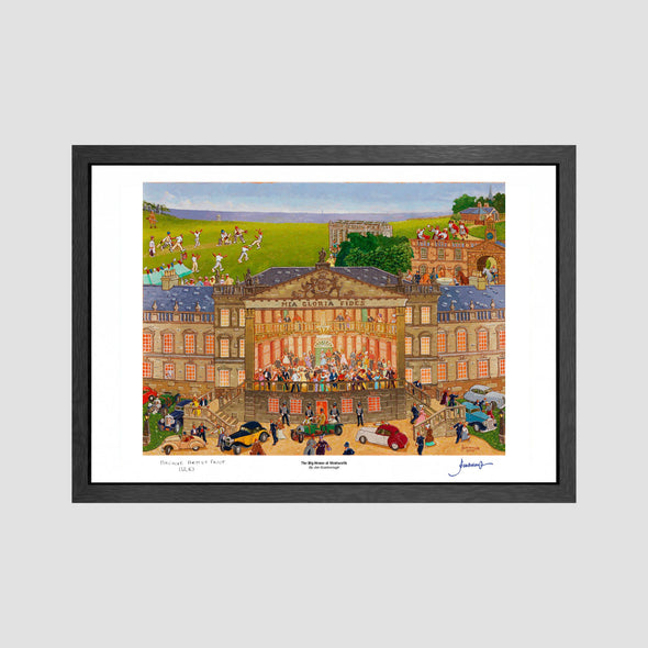 The Big House at Wentworth (Silk Paper) Signed Archive Artist Proof Art Print - Joe Scarborough Art