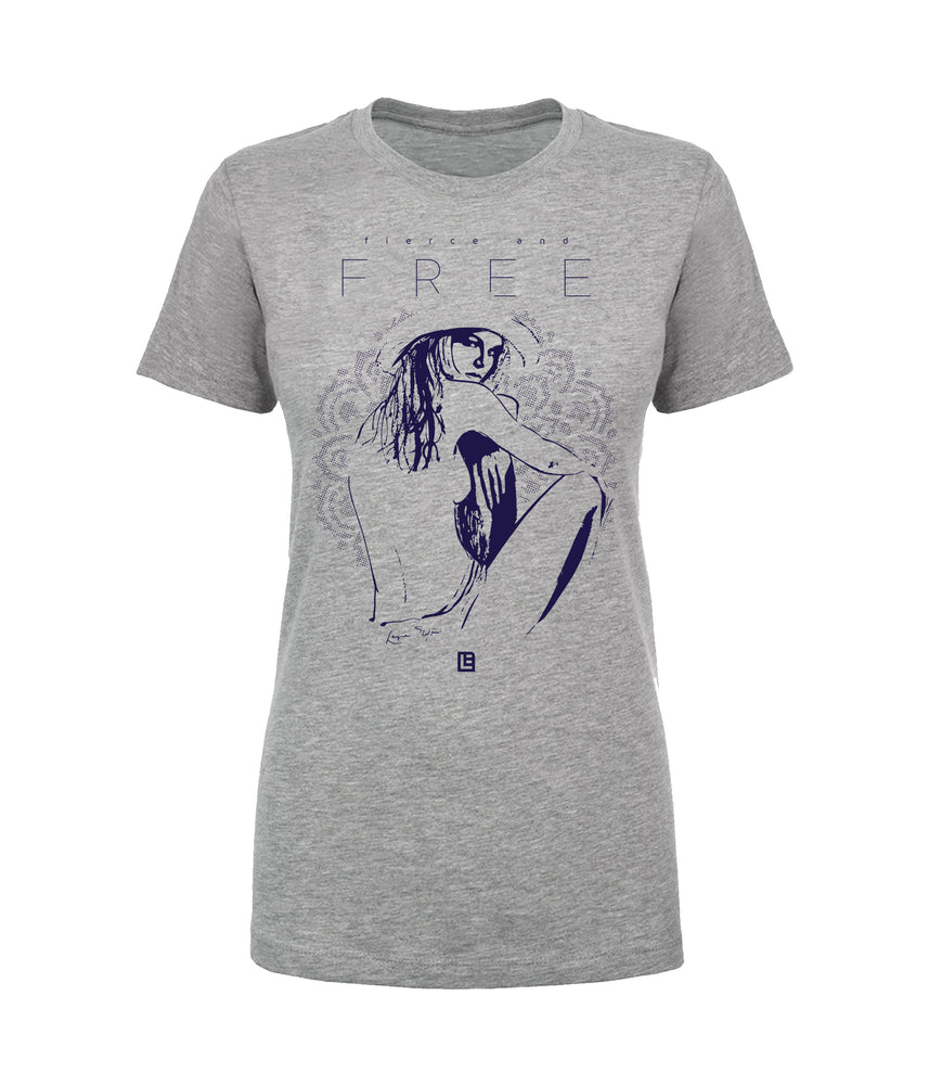 Fierce And Free Tee