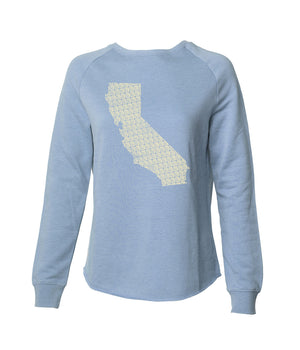 Golden State Women's Crewneck
