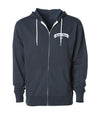 Belmont Shore Zip Up Hoodie