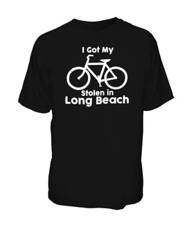 I Got My Bike Stolen In Long Beach Tee
